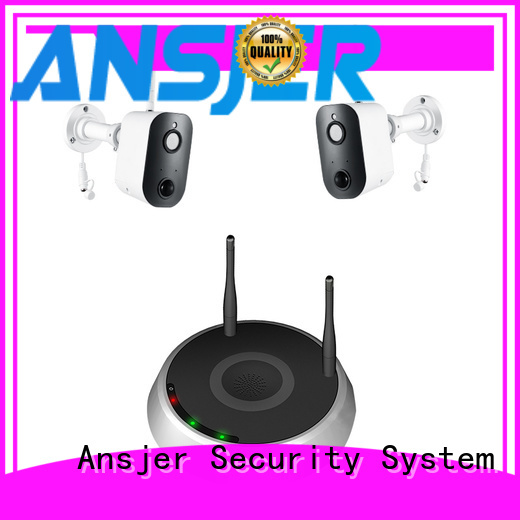 Ansjer cctv best smart home security system supplier for indoors or outdoors