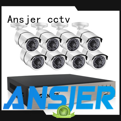 Ansjer cctv durable poe cctv 1080p manufacturer for home