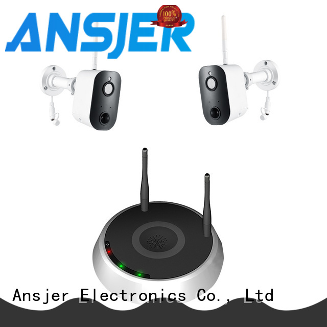 Ansjer cctv thermal smart home monitoring system series for surveillance