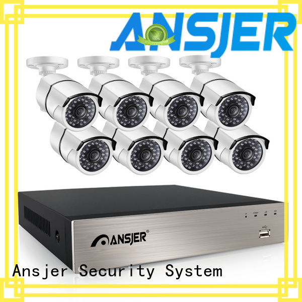 Ansjer cctv durable 1080p poe camera series for indoors or outdoors