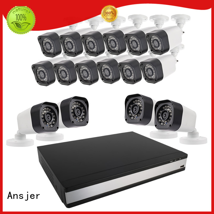 Ansjer Brand weatherproof weather proof outdoor 720p hd security camera system