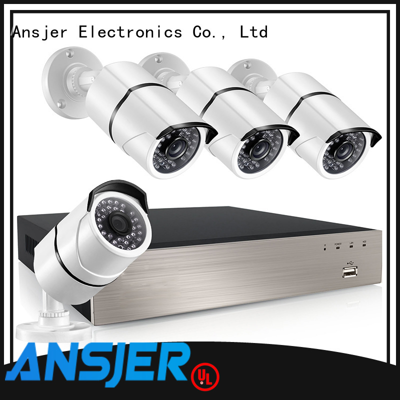 Ansjer cctv electric 5mp poe ip camera manufacturer for home