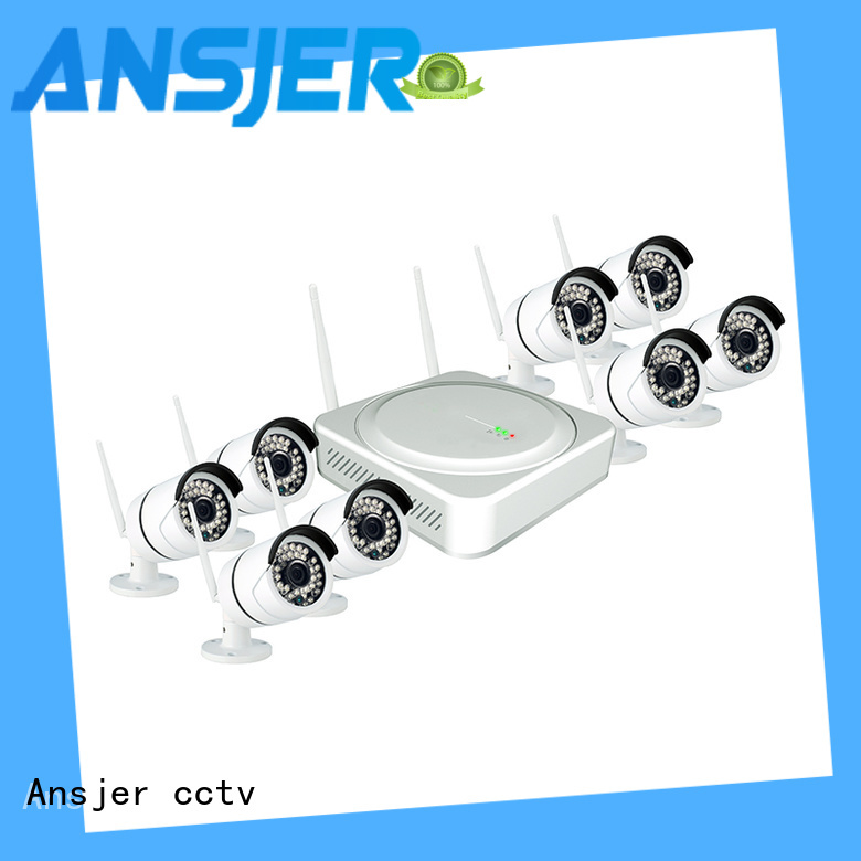 Ansjer cctv recorder wireless cctv camera system series for home
