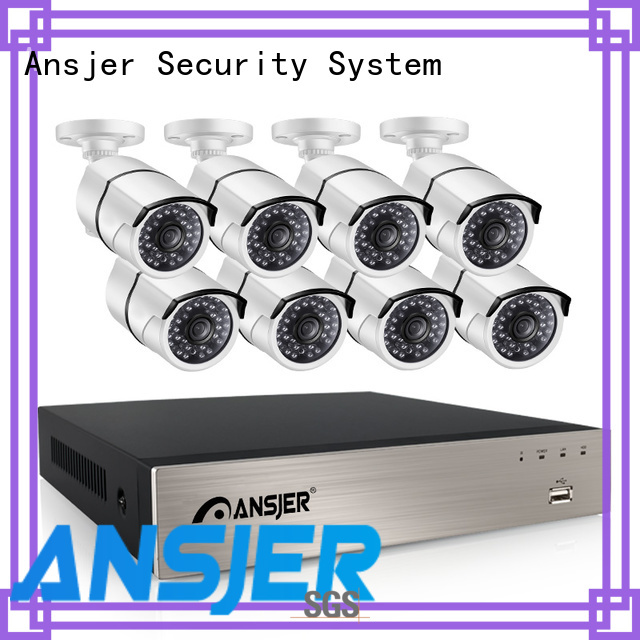 Ansjer cctv security 5mp nvr supplier for indoors or outdoors
