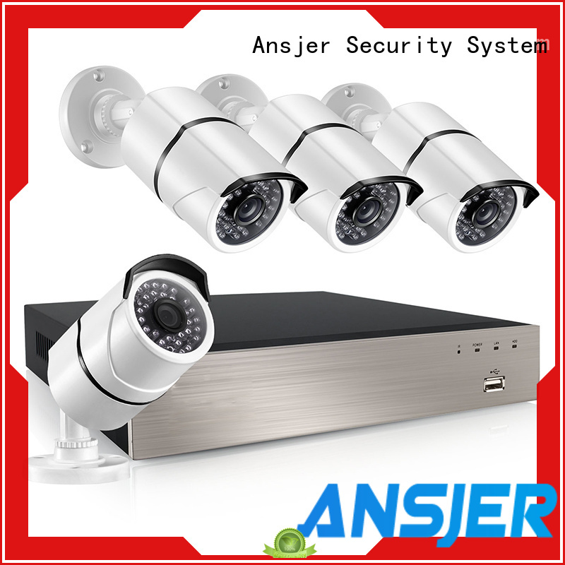Ansjer cctv electric 5mp poe ip camera manufacturer for surveillance