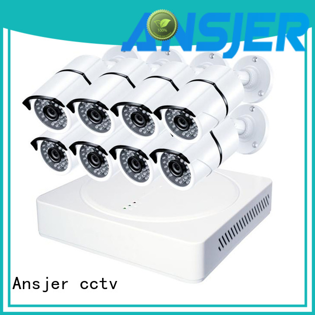 Ansjer cctv vision 5mp surveillance system manufacturer for indoors or outdoors