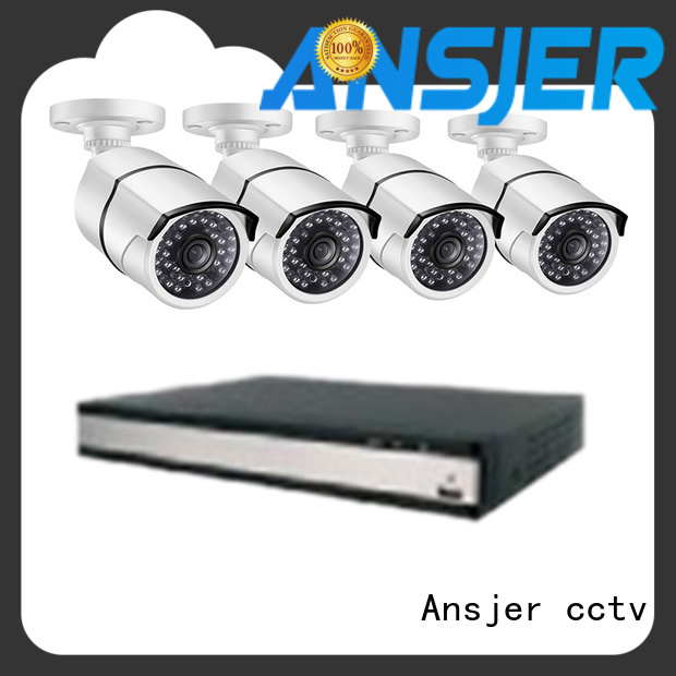 Ansjer cctv viewing ip camera poe 1080p wholesale for home