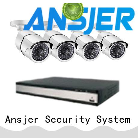 Ansjer cctv home 2k ip camera system supplier for surveillance