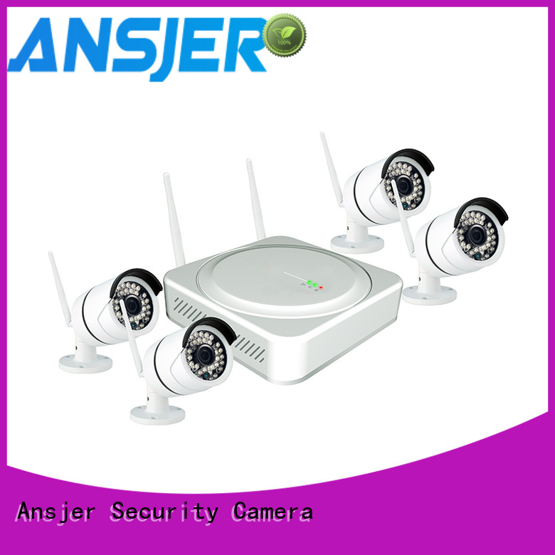 4 camera wireless security system wireless indoor 2k wireless security camera cameras Ansjer Brand