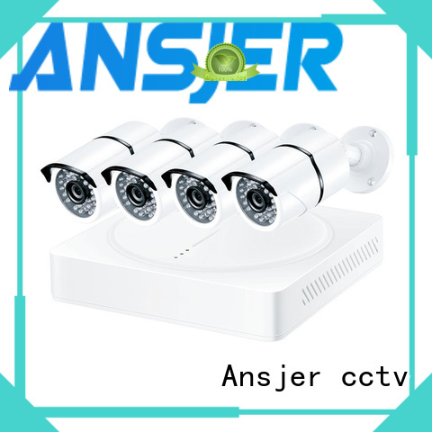 Ansjer cctv durable 4k video surveillance system wholesale for surveillance