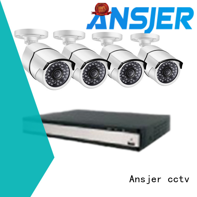 camera poe security camera system 1080p series for indoors or outdoors Ansjer cctv