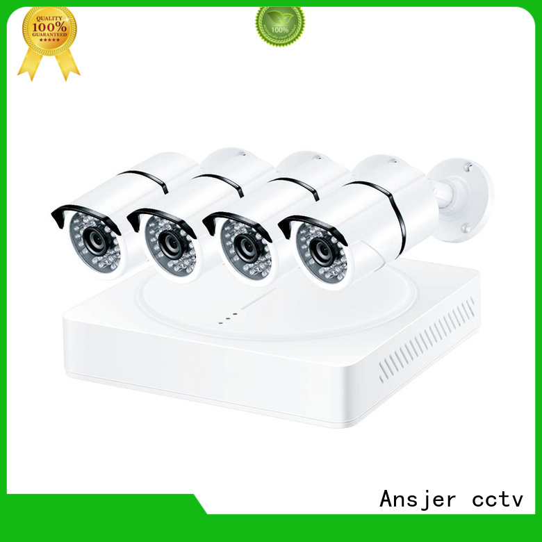 electric 4k outdoor security camera supplier for indoors or outdoors Ansjer cctv