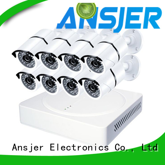 Ansjer cctv high quality 2k security camera system supplier for home