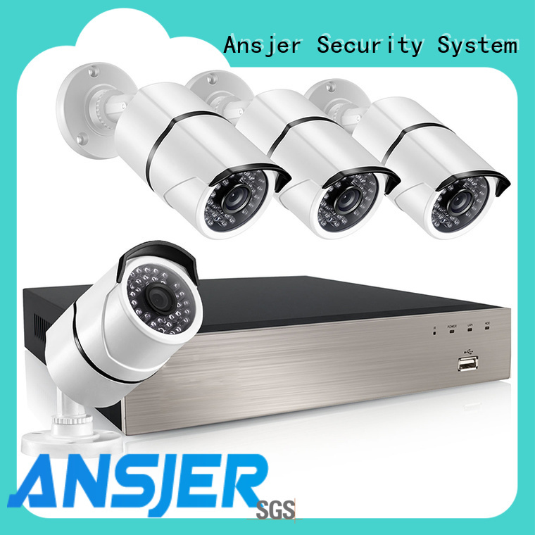 Ansjer cctv high quality 5mp poe wholesale for surveillance