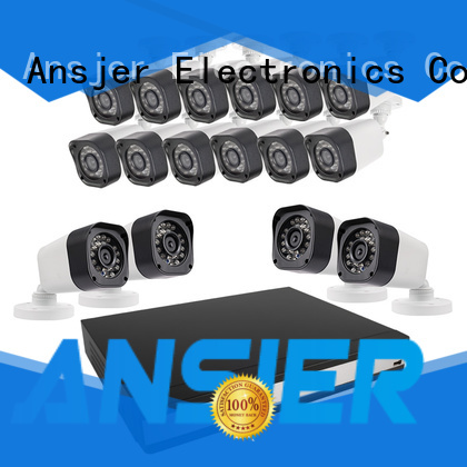 Ansjer cctv security 720p security camera system supplier for office