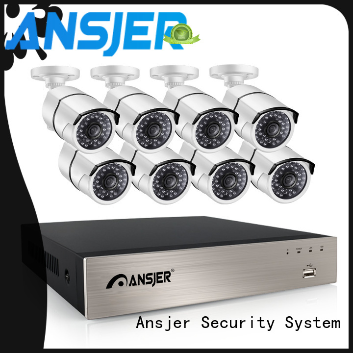 Ansjer cctv high quality nvr 5mp manufacturer for office