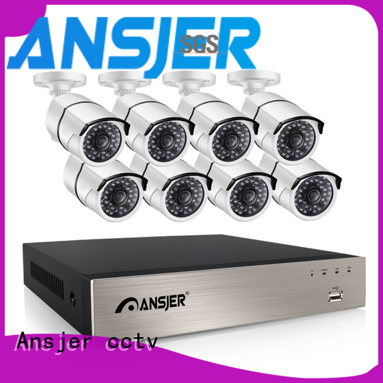 Ansjer cctv nvr 1080p poe security camera wholesale for surveillance