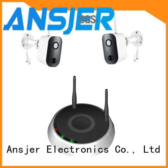 Ansjer cctv wire-free smart home monitoring system supplier for home