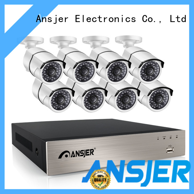 Ansjer cctv outdoor poe cctv 1080p supplier for home