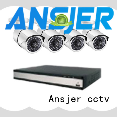 Ansjer 1080P HD H.264 Home Security Camera System, 16 Channel Video Recorder with 16 HD 2.0MP Outdoor/Indoor Surveillance Cameras IP66, 100FT Night Vision, Internet & Smartphone Viewing, Motion Email Alert