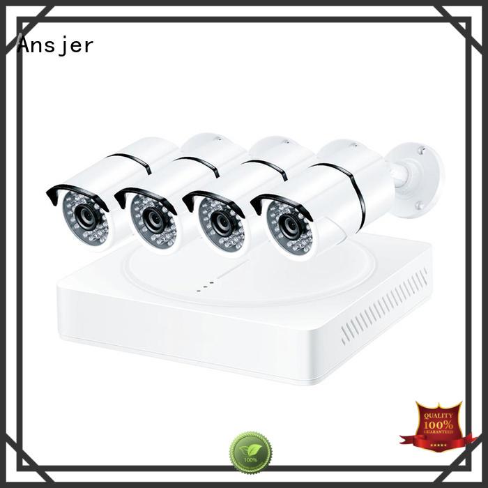 5mp bullet camera alert super Ansjer Brand 5mp surveillance system