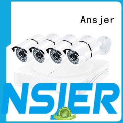 Ansjer Brand sensitive ultra hd 4k security camera