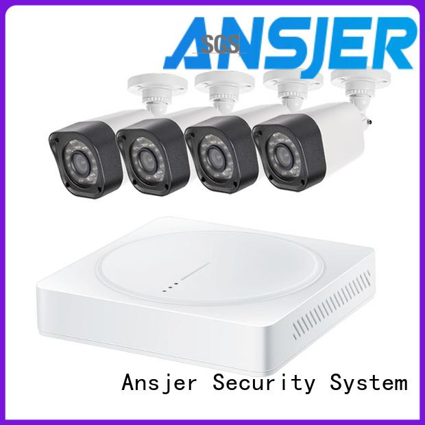 Ansjer cctv dvr 720p camera system manufacturer for home