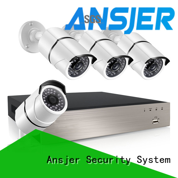 Ansjer cctv video 5mp nvr series for surveillance