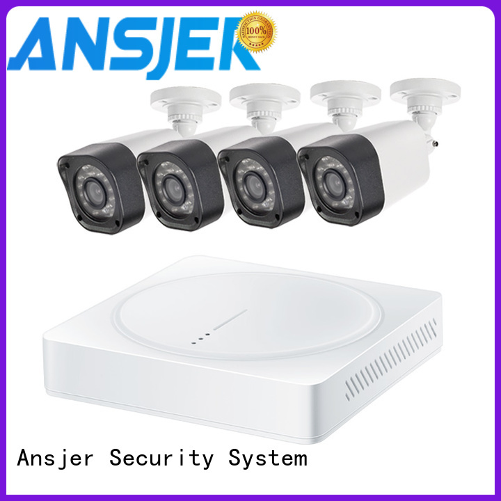 durable 720p camera system kit with night vision for office