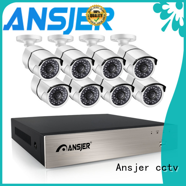 Ansjer cctv nvr 5mp poe ip camera manufacturer for indoors or outdoors