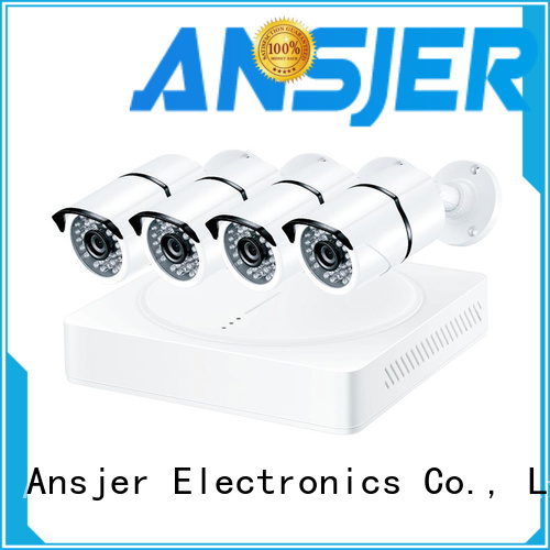 Ansjer cctv viewing security camera system 5mp series for home