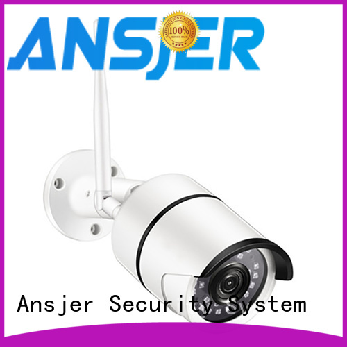 Ansjer cctv electric ip camera wifi supplier for indoors or outdoors