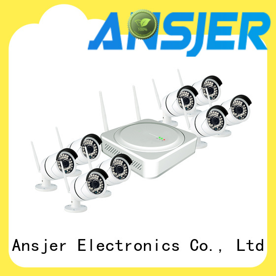 Ansjer cctv video wireless cctv camera system manufacturer for office