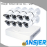 electric 1080p security camera system ir series for home