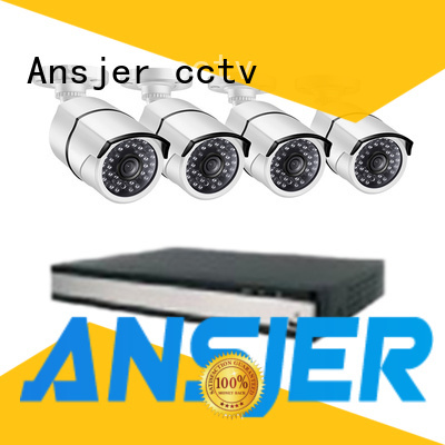 Ansjer cctv high quality poe cctv 1080p wholesale for home