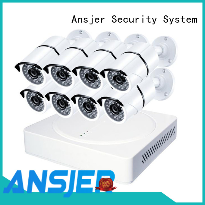 Ansjer cctv cameras 4k ip camera system manufacturer for home