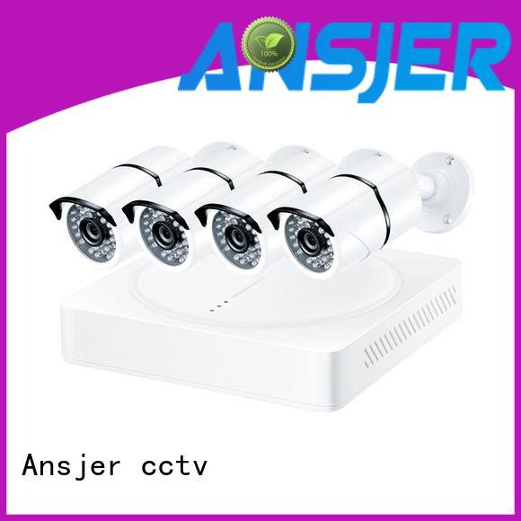 Ansjer cctv electric 5mp surveillance system series for surveillance