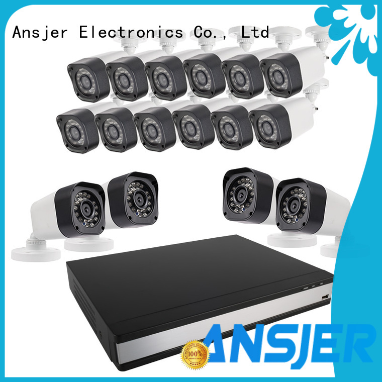 Ansjer cctv alert 720p hd security camera system supplier for home