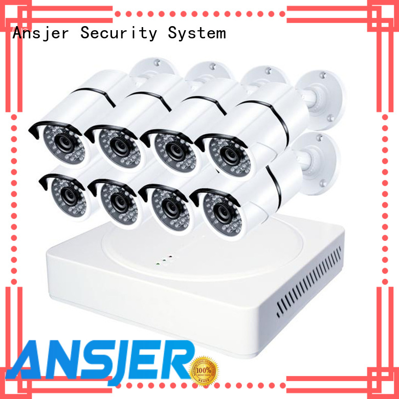 Ansjer cctv motion 1080p cctv system supplier for home