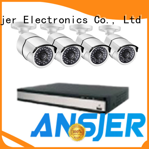 Ansjer cctv durable security camera system 5mp manufacturer for indoors or outdoors