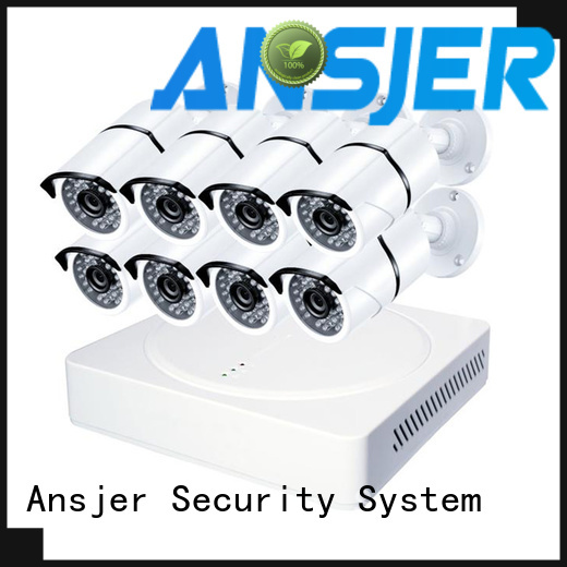 Ansjer cctv surveillance 2k ip security camera system manufacturer for office