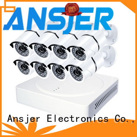 Ansjer cctv viewing 1080p hd security camera system series for home