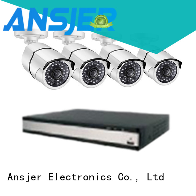 Ansjer cctv electric 2k ip camera system wholesale for office
