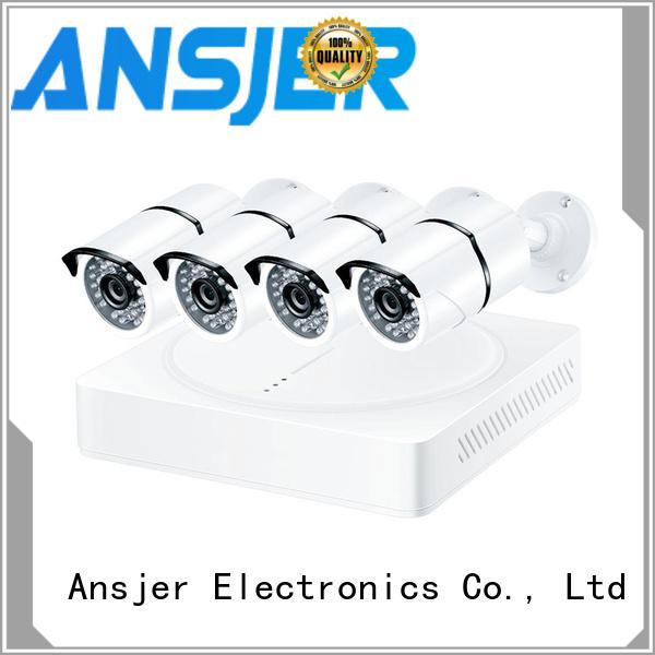 Ansjer cctv camera 1080p cctv system series for surveillance