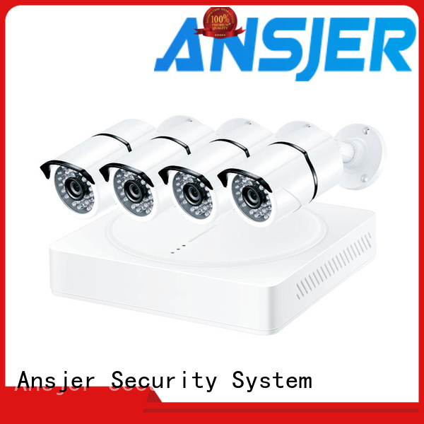 Ansjer cctv full 1080p security camera system wholesale for indoors or outdoors