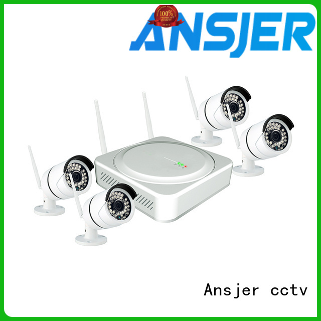 Ansjer cctv internet best wireless security camera system supplier for home