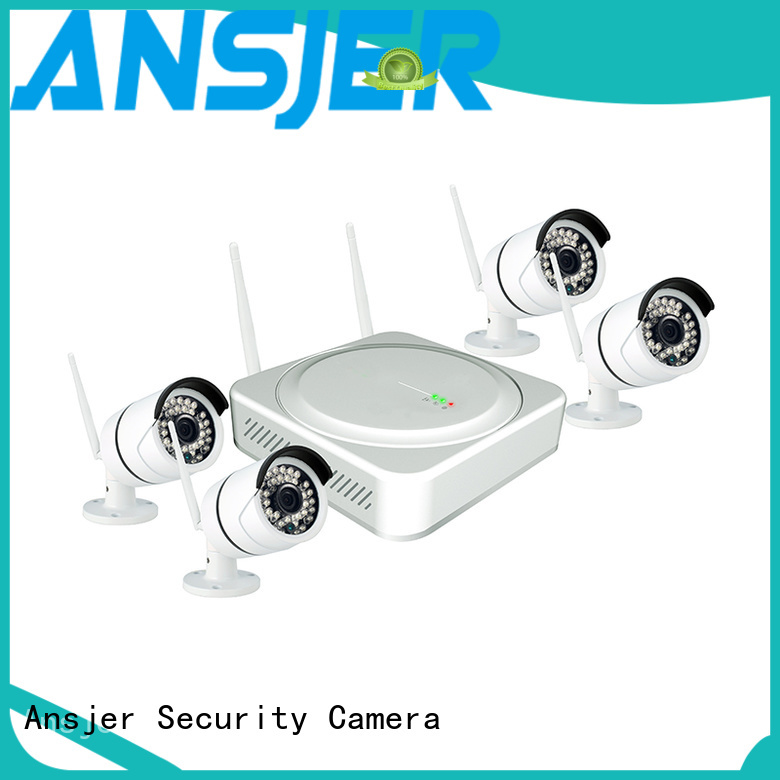 outdoor channel wireless 2k wireless security camera Ansjer Brand