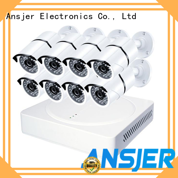 Ansjer cctv cameras 4k video surveillance system series for office