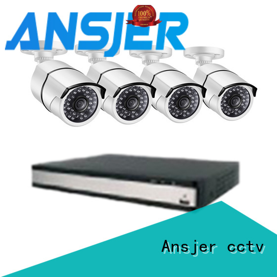 Ansjer cctv electric 1080p poe security camera wholesale for surveillance