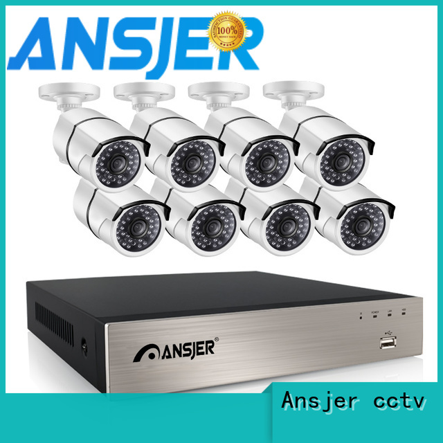 Ansjer cctv electric 1080p nvr supplier for home